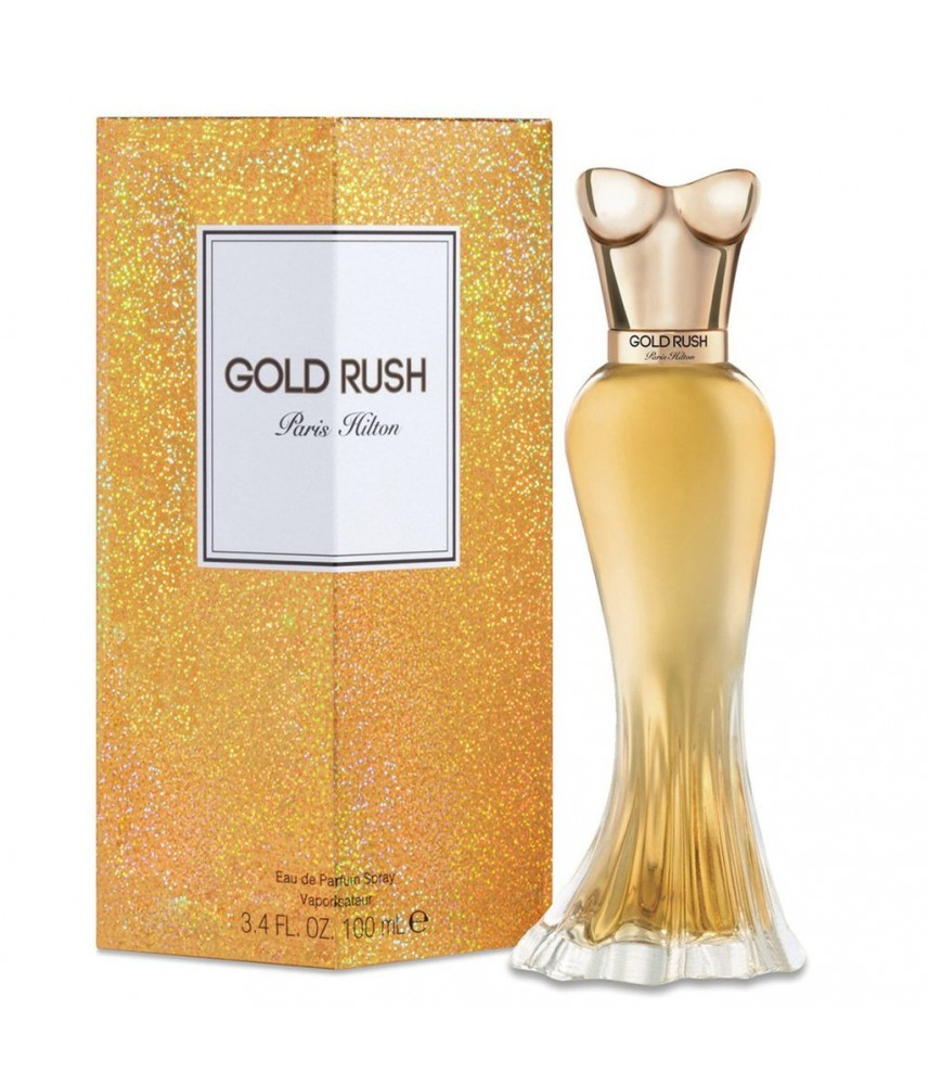 Tester-Paris Hilton Gold Rush For Women Edp 100ml - [Tanpa Tutup]