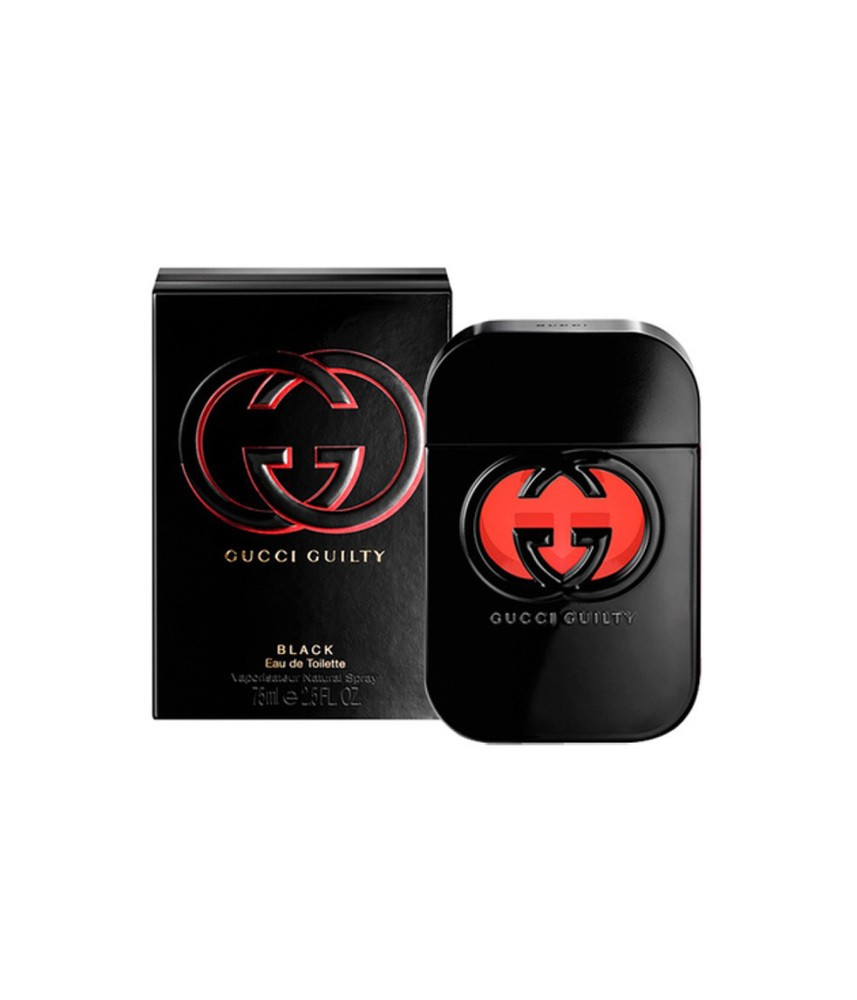 Tester-Gucci Guilty Black For Women Edt 75ml