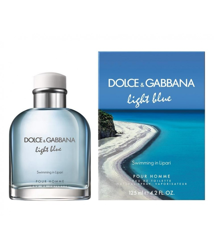 Dolce & Gabbana Swimming In Lipari For Men Edt 125ml