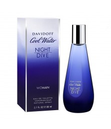 Davidoff Coolwater Night Dive For Women Edt 80ml