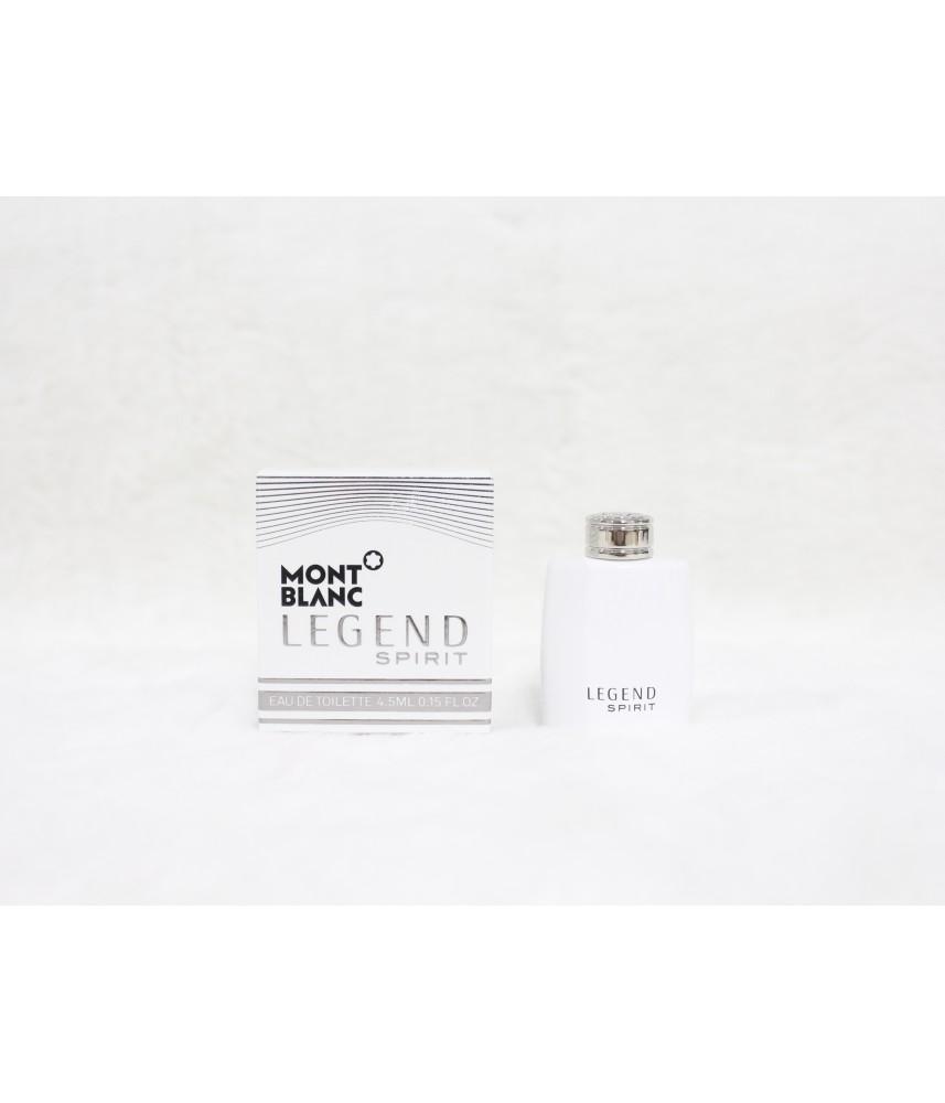 Miniature-Montblanc Legend Spirit For Men Edt 4.5ml