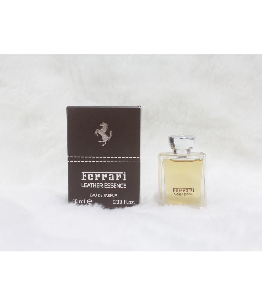 Miniature-Ferrari Leather Essence For Men Edp 10ml
