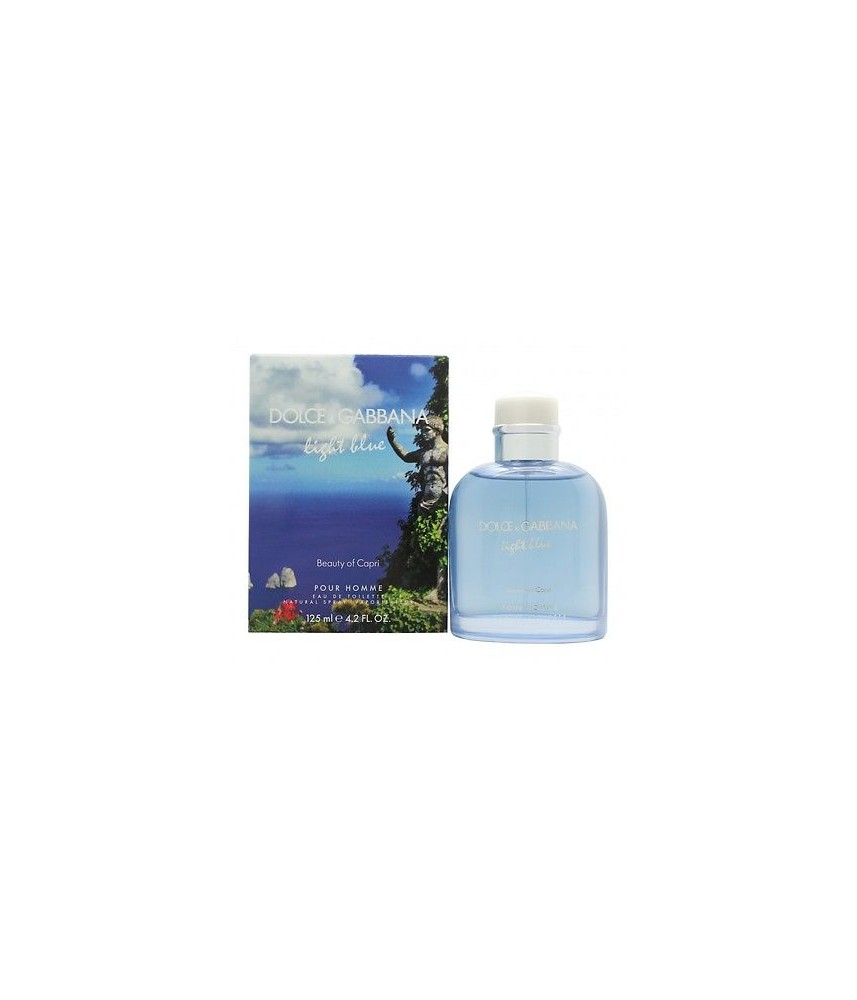 Tester-Dolce & Gabbana Light Blue Beauty Of Capri For Men Edt 125ml