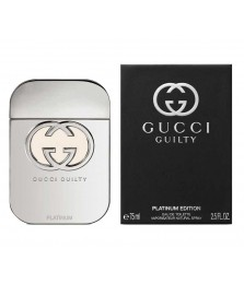 Tester-Gucci Guilty Platinum For Women Edt 75ml - [Ada Tutup]
