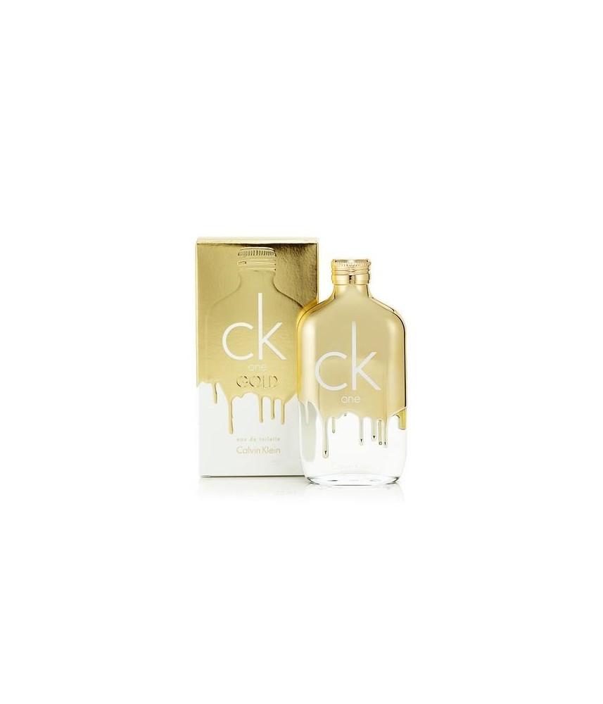 Tester-Calvin Klein One Gold For Unisex Edt 100ml