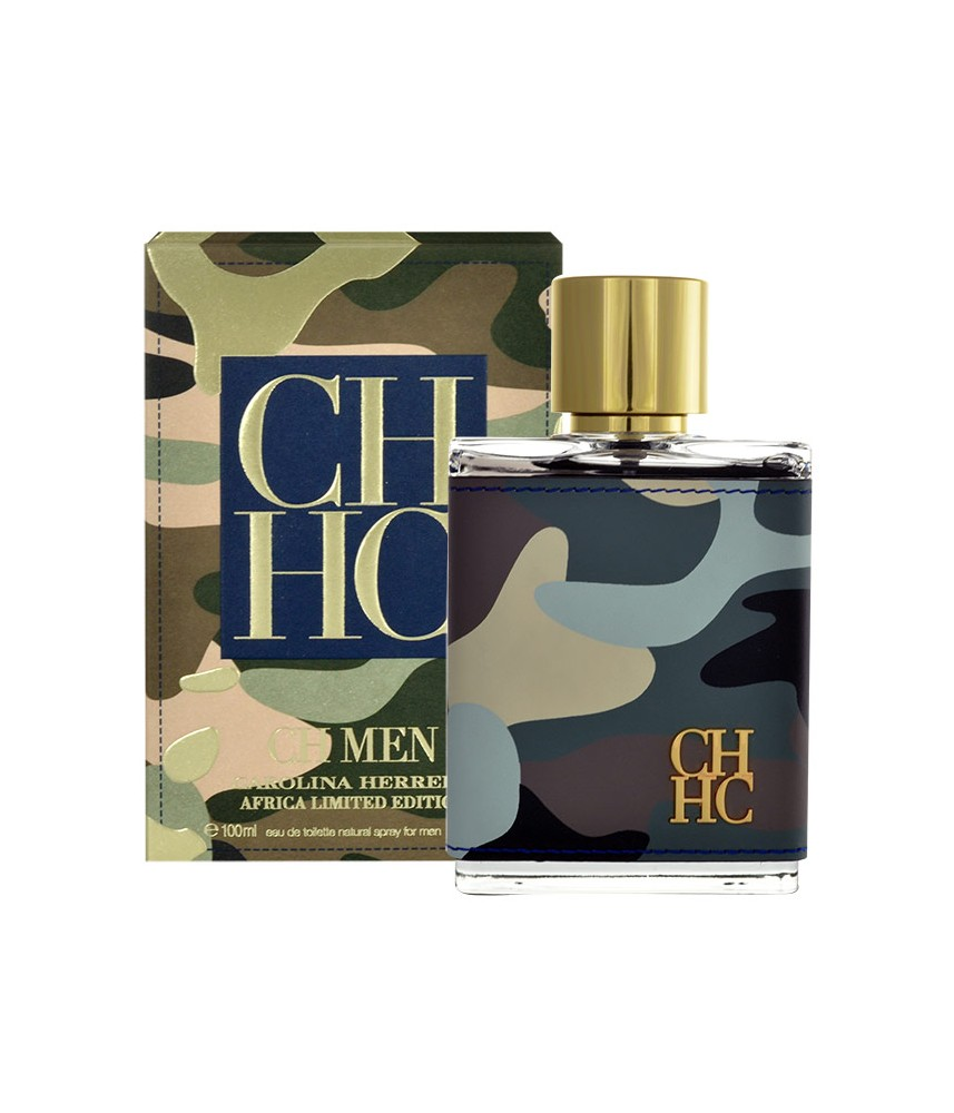 Tester-Carolina Herrera CHCH Africa For Men Edt 100ml - [Ada Tutup]