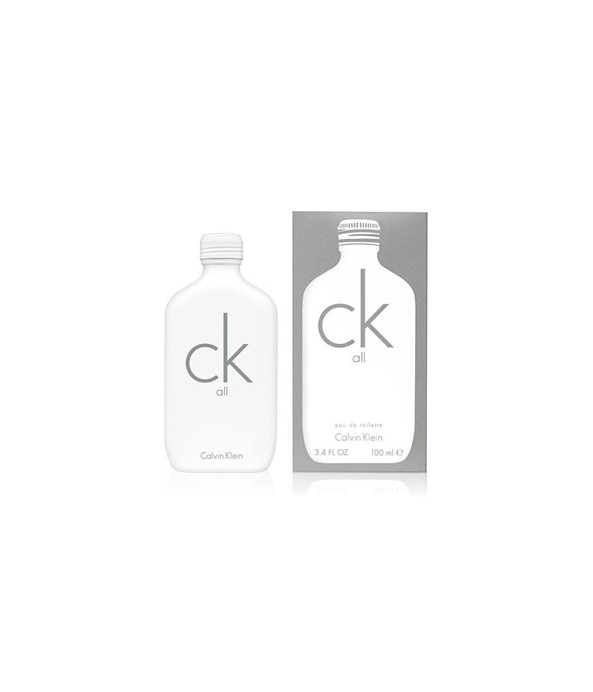 Tester-Calvin Klein All For Unisex Edt 100ml