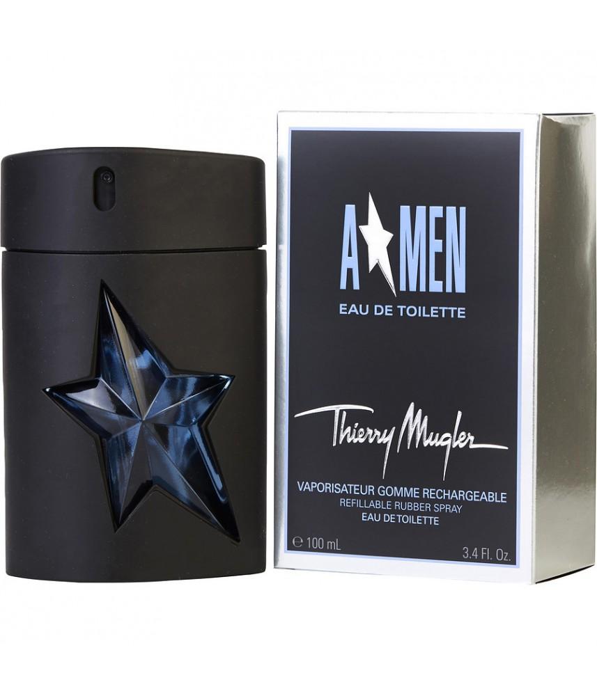 Thierry Mugler A.Men Refillable Rubber For Men Edt 100ml