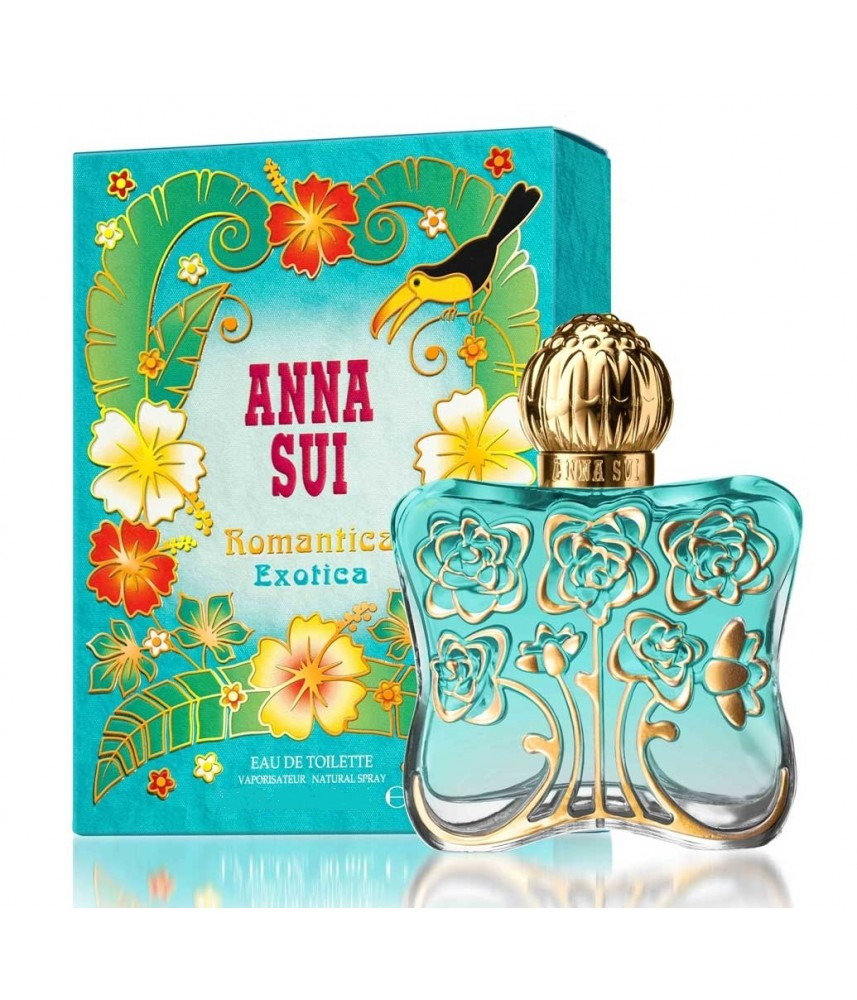 Tester-Anna Sui Romantica Exotica For Women Edt 75ml - [Ada Tutup]