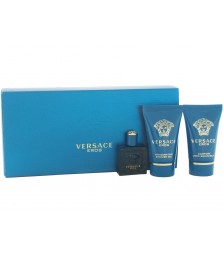 Giftset-Versace Eros For Men Edt 50ml + Shower Gel 50ml + After Shave 50ml