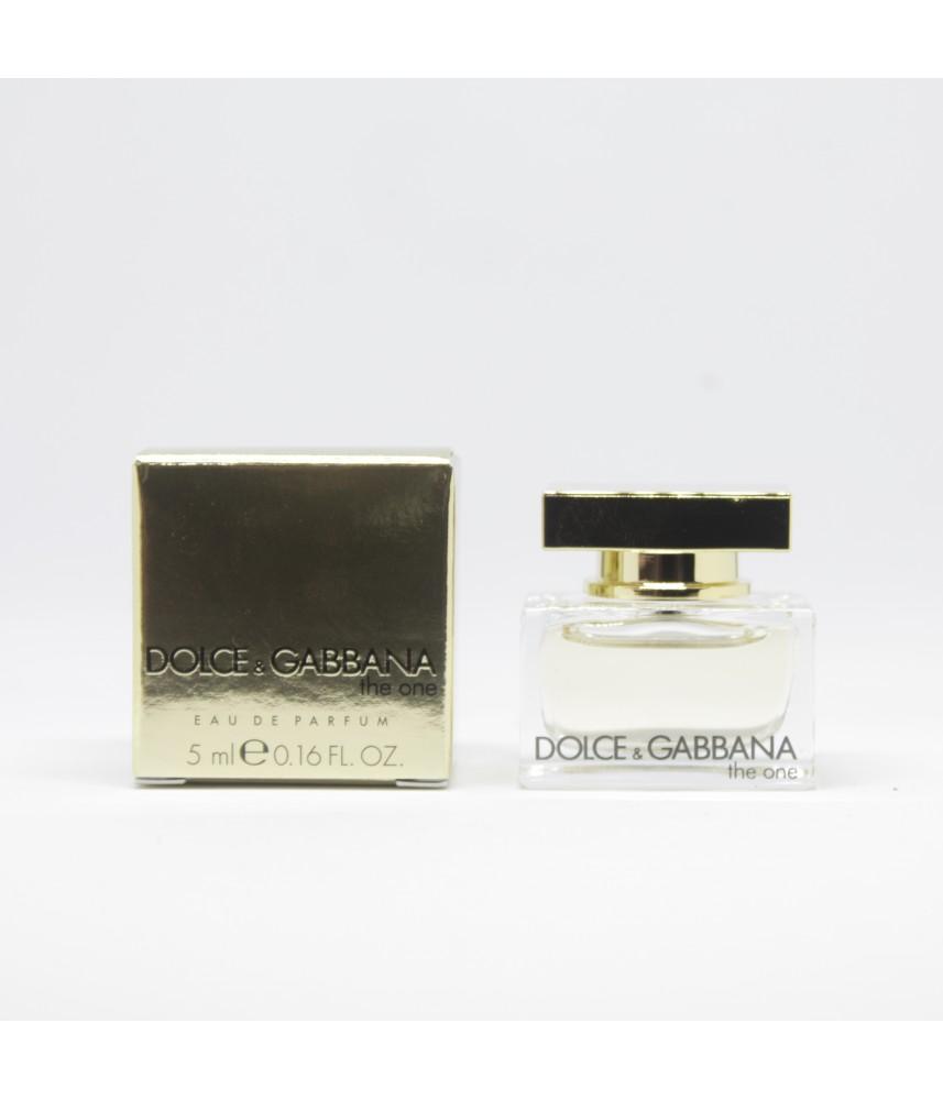 Miniature-Dolce & Gabbana The One For Men Edp 5ml