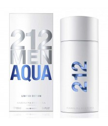 Tester-Carolina Herrera 212 Aqua For Men Edt 100ml - [Ada Tutup]