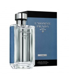 Tester-Prada L'homme L'eau Prada For Men Edt 100ml - [Ada Tutup]