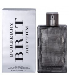 Tester-Burberry Brit Rhythm Intense For Men Edt 90ml