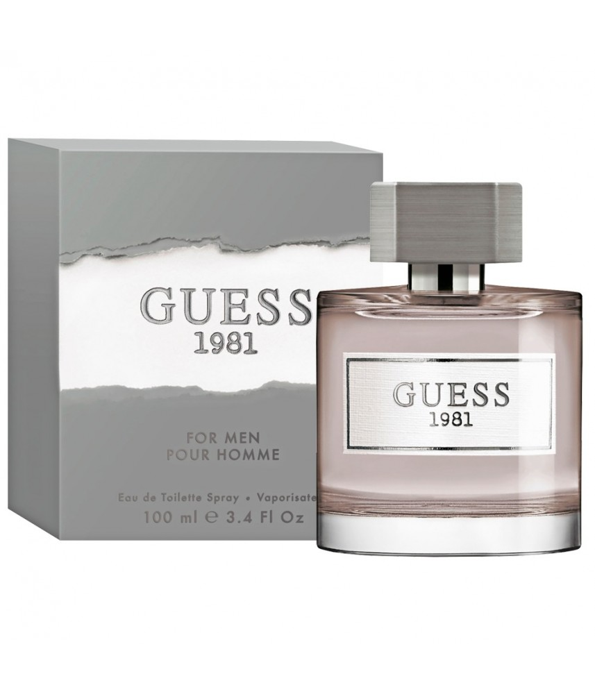 Guess 1981 For Men Edt 100ml