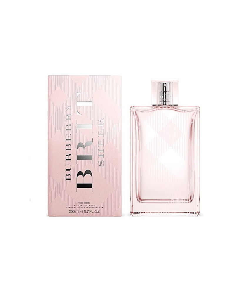 Burberry Brit Sheer For women Edt 200ml - [BIG SIZE]