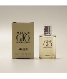 Miniature-Giorgio Armani Acqua Di Gio Absolu For Men Edp 5ml