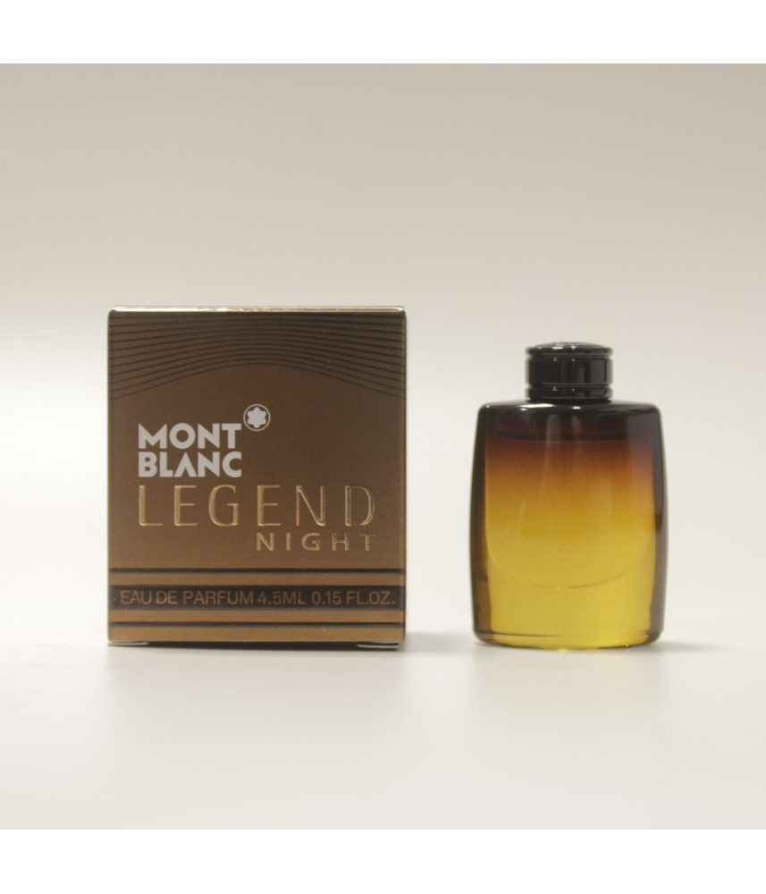 Miniature-Montblanc Legend Night For Men Edp 4.5ml