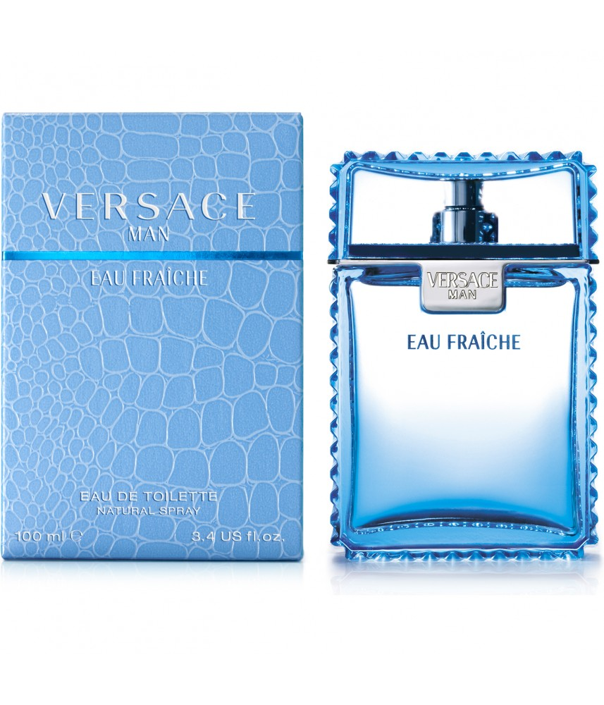 Tester-Versace Eau Fraiche For Men Edt 100ml - [Tanpa Tutup]