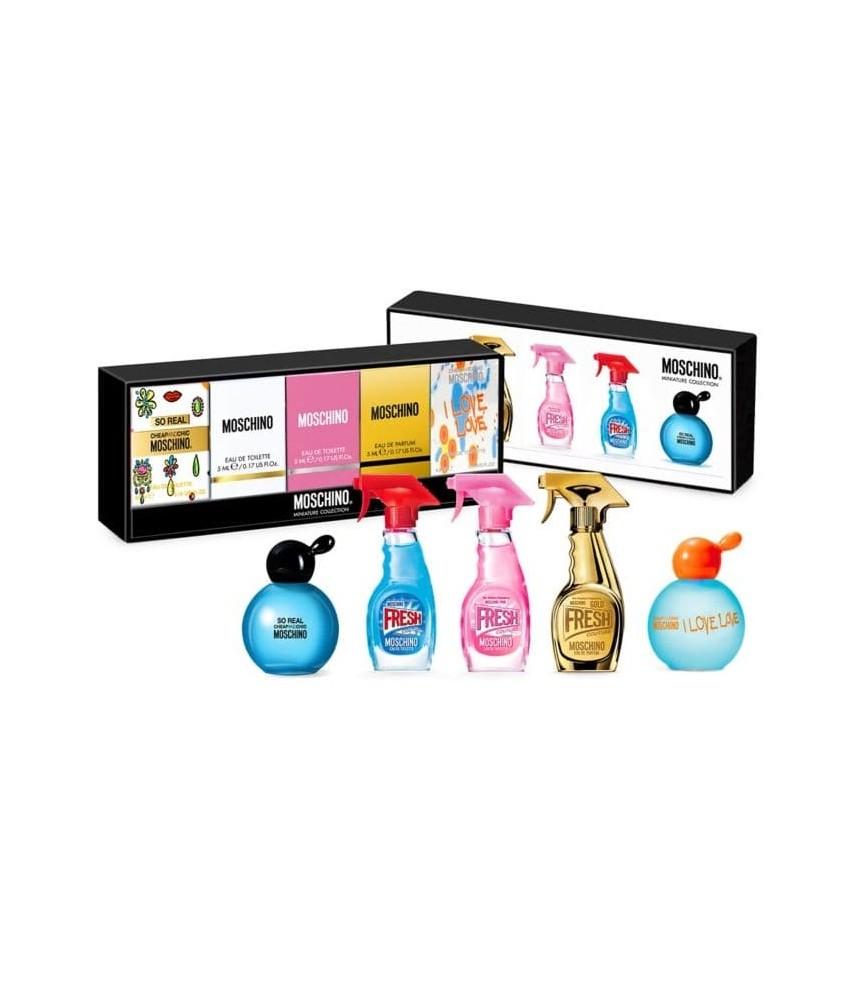 Miniature-Set Moschino Edition For Women 5pcs x 5ml (9940)