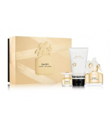 Giftset-Marc Jacobs Daisy For Women Edt 100ml + Miniature 5ml + Lotion 75ml