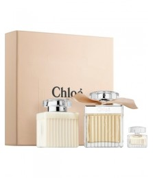 Giftset-Chloe For Women Edp 75ml + Lotion 100ml + Miniature 7.5ml