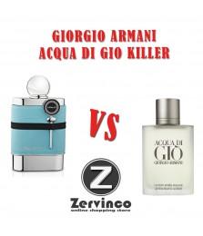 Armaf Blue Homme For Men Edt 100ml - Giorgio Armani Acqua Di Gio Killer