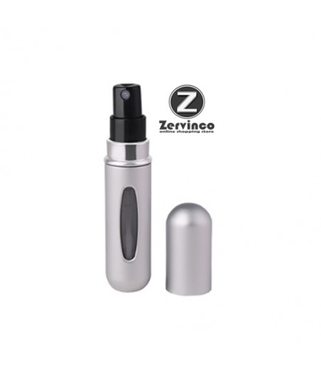 Travel Atomizer Silver 5ml - 50 Kali Spray