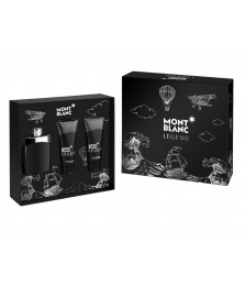 Giftset-Montblanc Legend For Men Edt 100ml + Shower Gel 100ml + After Shave 100ml