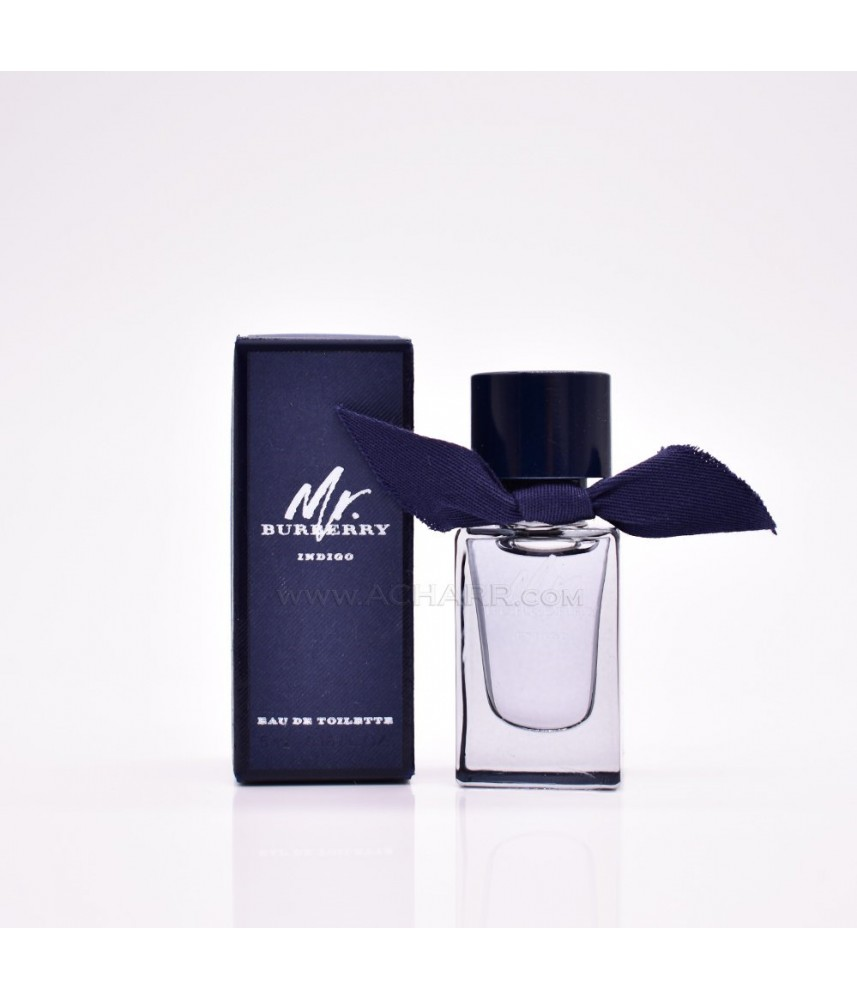 Miniature-Burberry Mr.Burberry Indigo For Men Edt 5ml