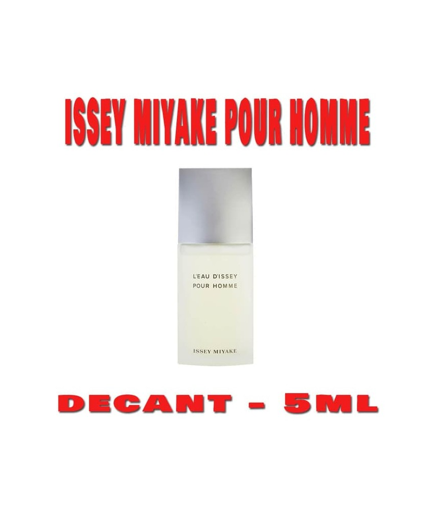 Decant-Issey Miyake L'eau D'issey Pour Homme For Men Edt 5ml