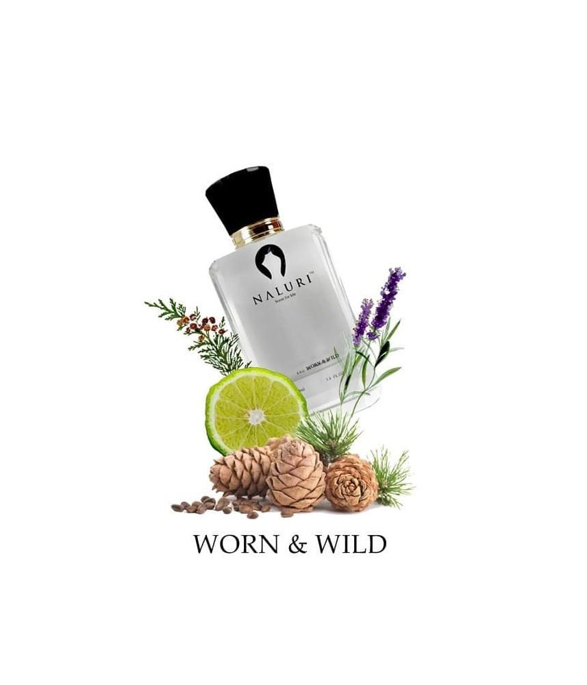Naluri Worn & Wild For Men Edp 100ml - Clone of Dior Sauvage