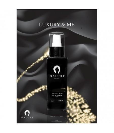 Naluri Luxury & Me For Men Edt 100ml - Clone of Carolina Herrera 212 men