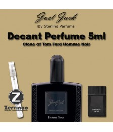 Decant-Just Jack Homme Noir For Men Edp 5ml