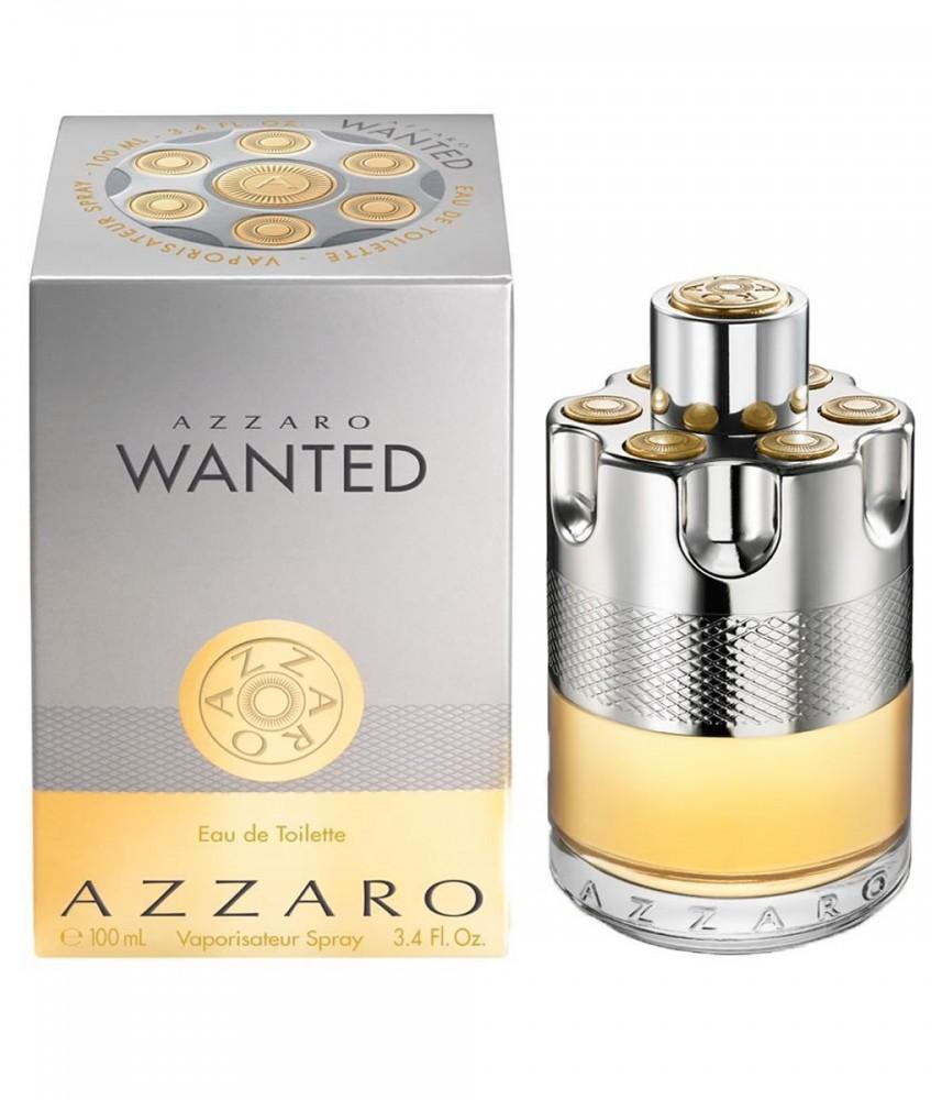 Tester-Azzaro Wanted For Men Edt 100ml - [Tanpa Tutup]