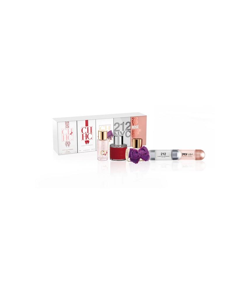 Miniature-Set Carolina Herrera For Women 5pcs