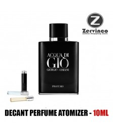 Decant-Giorgio Armani Acqua Di Gio Profumo For Men  Edp 10ml